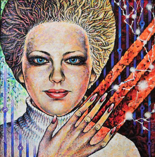 Женский портрет-3