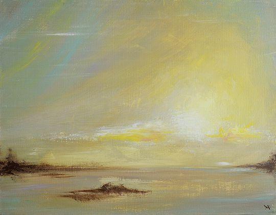 Солнечный пейзаж