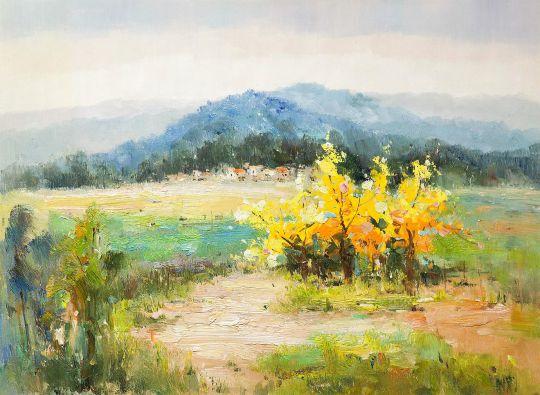 Осень в предгорьях Алтая N1