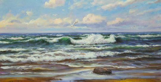 Морской пейзаж Море, море, мир бездонный… N1