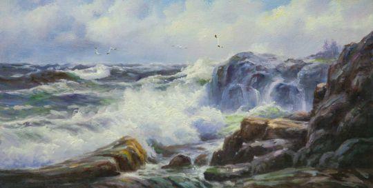 Морской пейзаж Море, море, мир бездонный… N5