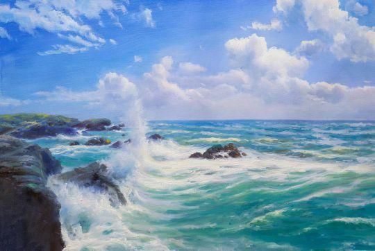 Цвет морской волны