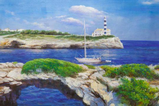 Морская прогулка у маяка