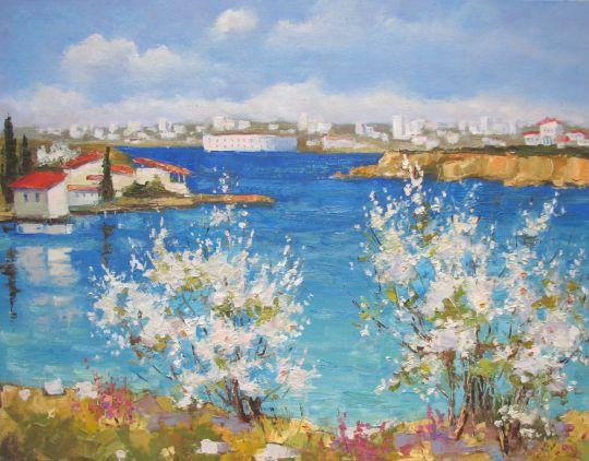 Весна в Карантинной бухте