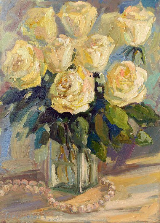 Розы и жемчуг