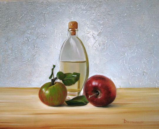 Яблоки и вино