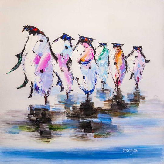 Королевский пингвин. Неспешной походкой…