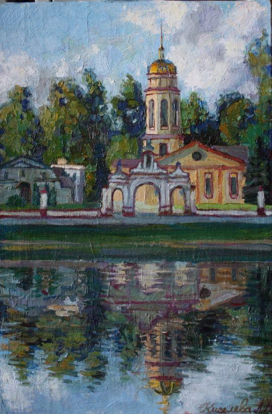храм в Алтуфьево