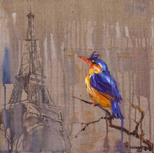 Зимородок. Париж