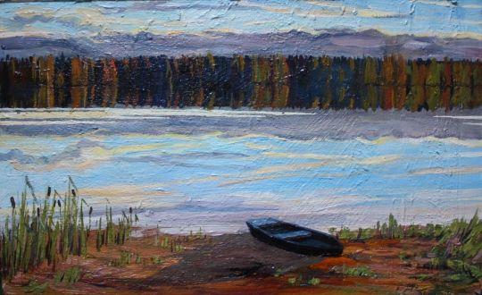 Лодка и берег