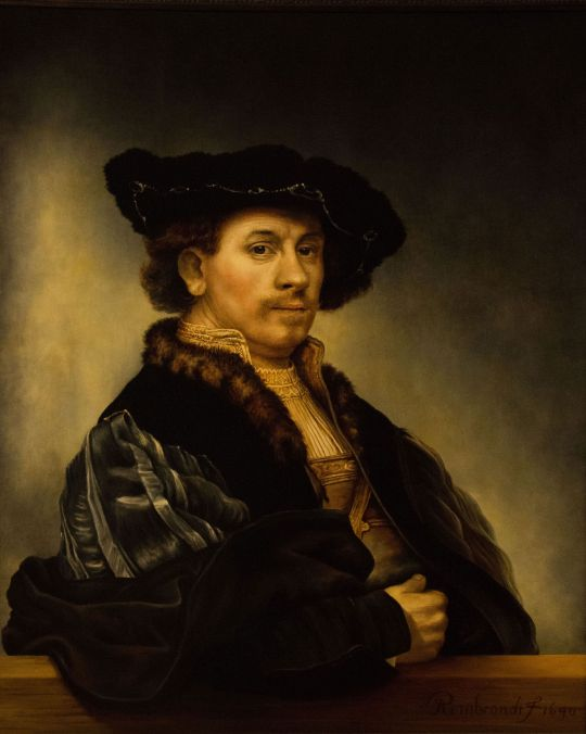 Автопортрет 1640 года (копия Рембрандта)