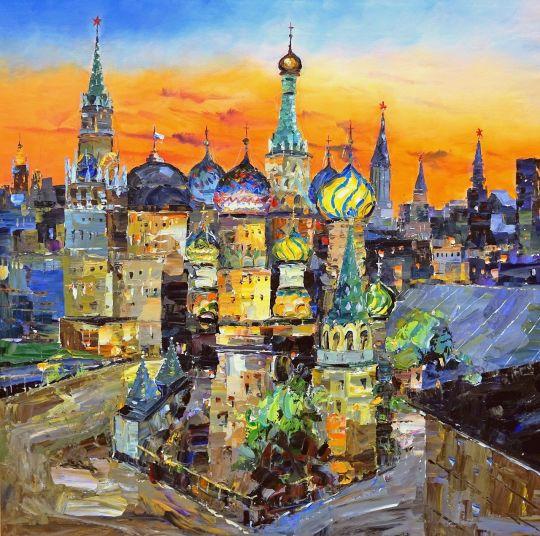 Собор Василия Блаженного на Красной площади N2