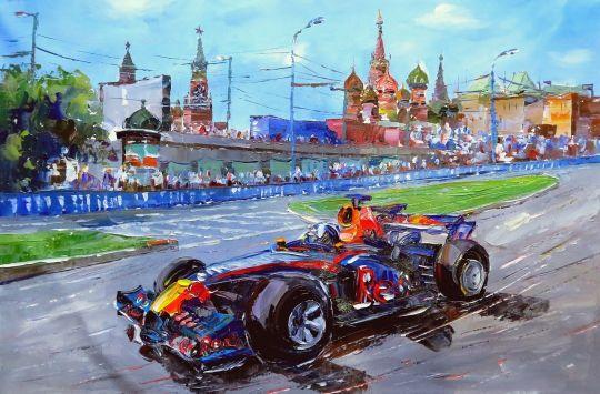 Формула-1. Гонки на Красной площади