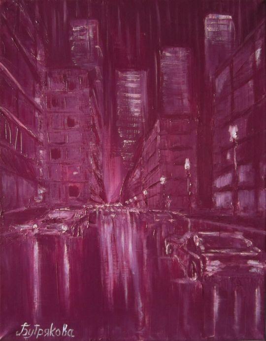 Огни загадочного города