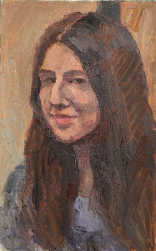 Ольга улыбающаяся