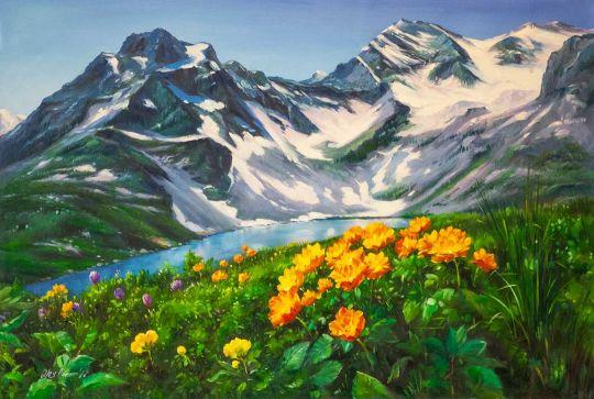 Цветы и горы, горы и цветы N3