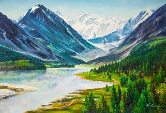В долине гор