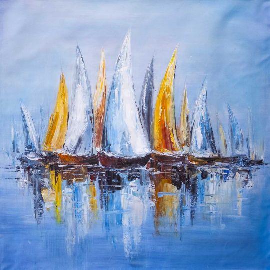 Разноцветные яхты N7