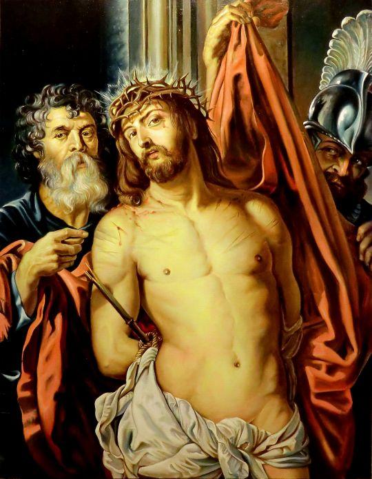 Христос в терновом венце (копия Рубенса)