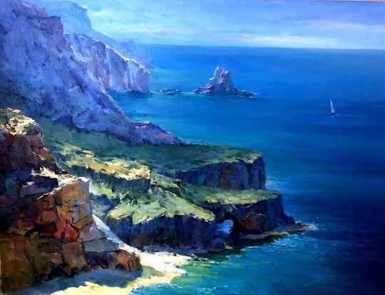 Крым. Спокойное море
