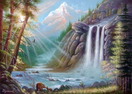 Медвежий рай.