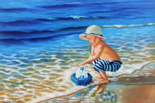 Мальчик с корабликом