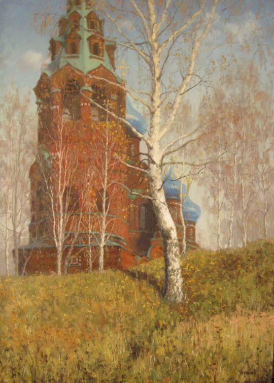 Осень в Черкизово. Покровский храм