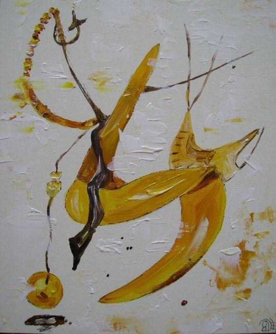 Желтая абстракция
