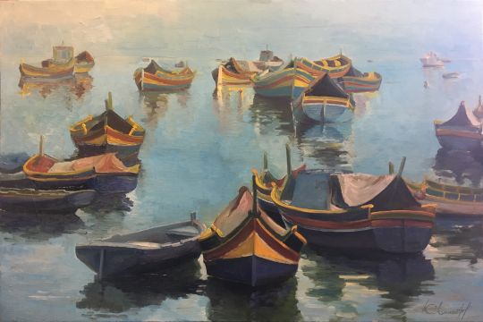 Страна цветных лодок