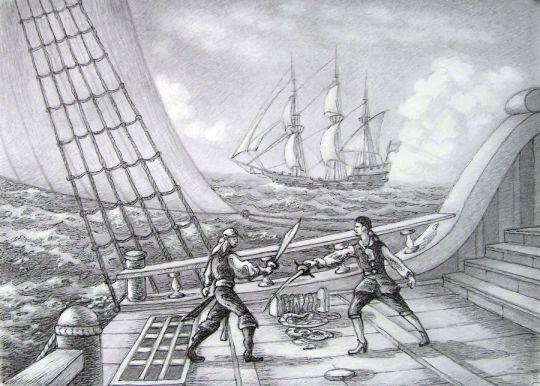 Пиратская сцена 3.