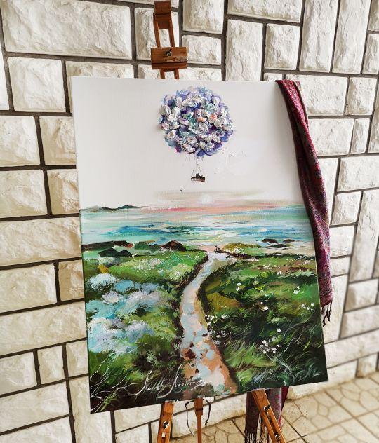 Колыбельная ветра - Картина в стиле Бохо