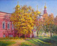 Октябрь в Новодевичьем