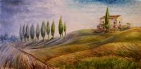 Земля холмов. Тоскана