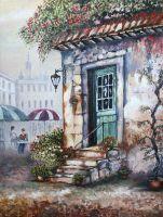 Романтическое утро в Италии
