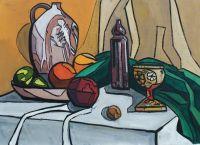 «Натюрморт с абрикосом»