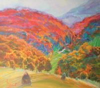 Осень пришла в горы Сербии.