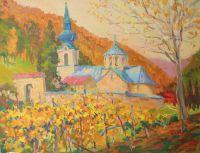 Сербия.Горный монастырь Троноша.