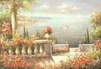 Вид на море.худ.Р.Смородинов