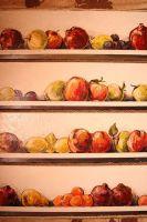 Панно с яблоками