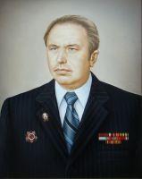 Мужской портрет по фотографии.