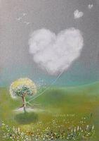 Прогулка облака любви