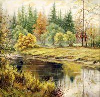 Осень.худ.Р.Смородинов