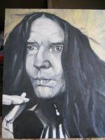 портрет Дженис Джоплин