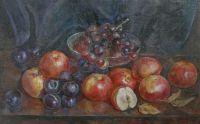 Яблоки и слива