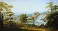 Интерпретация картины Матвеев Ф.М. Водопад