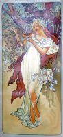 Весна.копия А.Мухи.худ.Р.Смородинов