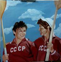 Байдарочницы СССР