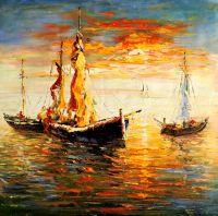 Лодки.худ.А.Бруно
