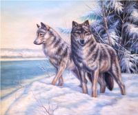 Волки.худ.С.Минаев