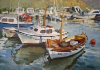 Белые лодки